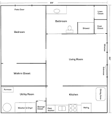 mother in law suite basement floor plan