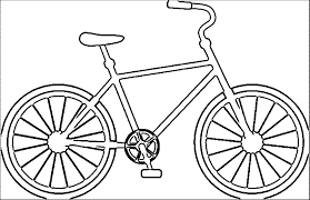 Small Picture Bicycle Coloring Page In glumme