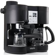 Amazon.com: KRUPS XP1600 Coffee Maker and Espresso Machine Combination,  Black: Espresso And Coffee Maker Combo: Kitchen & Dining