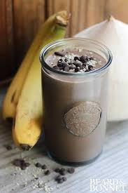 vegan chocolate protein smoothie