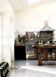 industrial inspired furniture. Busy But Industrial-inspired Kitchen Design. Everything Is On Hand Here. Industrial Inspired Furniture