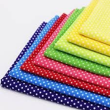 Multicolor Polka Dot Cotton Fabric Tilda Fabrics For Patchwork ... & Multicolor Polka Dot Cotton Fabric Tilda Fabrics For Patchwork Cotton  Tissue Home Textile Woven Telas Tecido Adamdwight.com