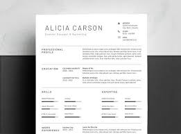 Best Modern Clean Resume Design Clean Resume Template 4 Pages By Resumepro Resume