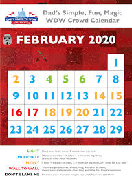 February Disney World Crowds Calendars Tips And More