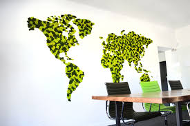 Greenmood Design Lichen World Maps Green Mood Natural Acoustic Solutions