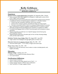 Simple Resume Sample template Construction Cv Template Format For Teaching Fitness 83