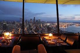 dinner seattle space needle. skycity restaurant dinner seattle space needle