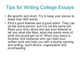 tips for college essays pics photos college essay writing tips view larger
