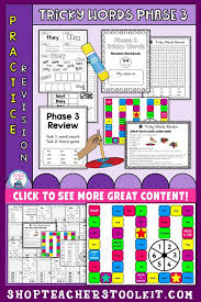 Tricky words 3 tricky words 3. This Resource Pack Is Suitable For Students To Practise And Revise Tricky Words In Phase 3 Students Will Do The Following Tricky Words Word Practice Phonics