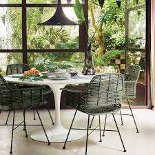 scandi style furniture. Scandi Style Rattan Tub Dining Chair In Olive Green - Hk Living   Cuckooland Furniture