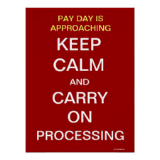funny office poster. Payroll Department Funny Keep Calm Slogan Office Poster S