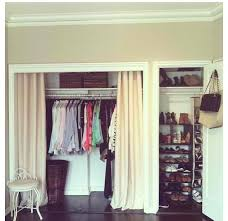 closet door ideas curtain create a new look for your room with these closet door ideas