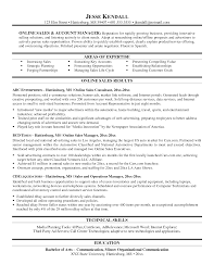 Sales Resume Bullet Points Examples