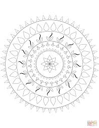 Small Picture Simple mandalas coloring pages Free Coloring Pages