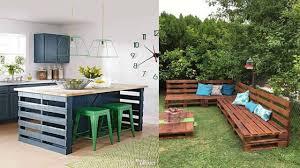 unique wood pallet furniture ideas diy pallet projects