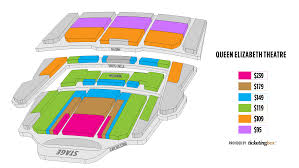 Vancouver Queen Elizabeth Theatre Seating Chart English