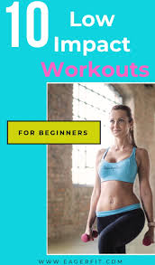 10 low impact workouts for beginners