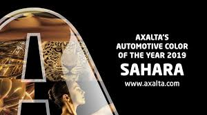 Pacific Polymers Color Chart Axaltas 2019 Color Of The Year Sahara