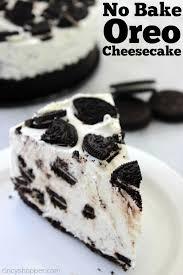 oreo cheesecake recipe. Unique Recipe No Bake Oreo Cheesecake Looks And Tastes Like It Could Be On The Menu Of For Cheesecake Recipe E