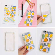 diy iphone case makeovers printable smart phone cases easy diy projects and handmade crafts