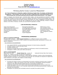Supply Chain Resume Supply Chain Manager Resume Objective Therpgmovie 44