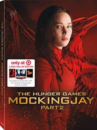 hunger games mockingjay part 2 target exclusive edition bluray digibook