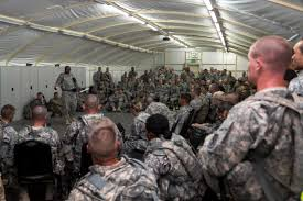 u s department of defense photo essay u s iers listen to a briefing before conducting their final training lanes and evaluations their