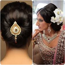 Indian Bridal Hairstyle For Round Face Photos