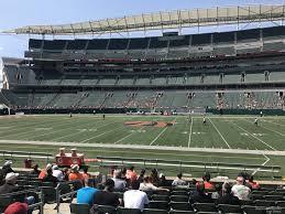 Paul Brown Stadium Section 139 Rateyourseats Com