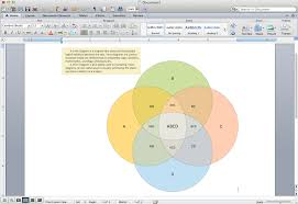 Create A Venn Diagram From Data Venn Diagram Template For Word