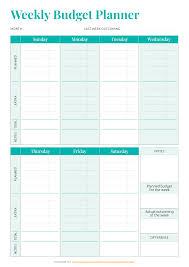 Personal Weekly Budget Templates 031 Budget Worksheet Free Household Pdf Simple Weekly