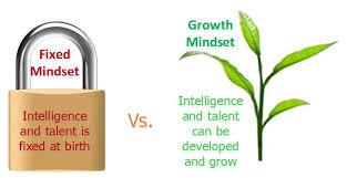 Fixed Vs Growth Mindset Chart Fixed Mindset Vs Growth Mindset The Peak Performance Center