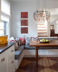 corner banquette bench Kitchen Transitional with bench seating built in.  Image by: company kd llc