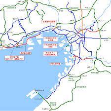 阪神 高速 路線 図
