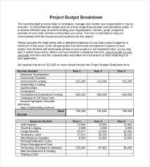 software development project budget template 10 project budget templates free sample example format download