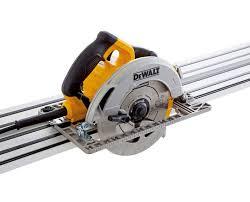 dewalt skil saw. dewalt dwe576k 110v precision circular saw 190mm 1600w includes with 1 x 1.5m dws5022 guide rail and case dewalt skil