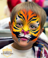 easy tiger face painting ideas fun image source