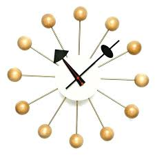 george nelson wall clock large image for enchanting ball wall clock nelson wall style clocks george