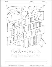 Small Picture Free Printable Flag Day June 14th Coloring Sheet Student Handouts