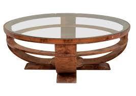 Wonderful Wood Glass Coffee Table Coffee Table Round Wood Glass Coffee Table  Chrome Wood And Glass