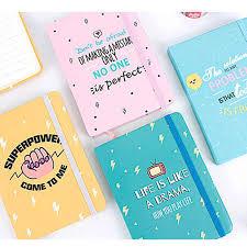 2019 A7 24 Design Designer Mini Small Pocket Planner Lined Paper Hardcover Agenda Journal Binder Notebook School Stationery