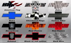 All Chevy blue chevy bowtie emblem : American Flag Chevy Bowtie Decal Custom Vinyl Decals. Image For ...
