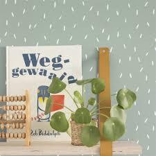 Little Dutch Behang Sprinkles Mint Enjoy Live