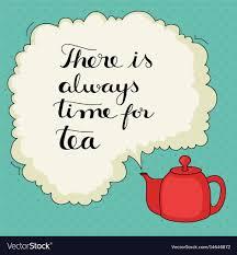 Cute Hand Drawn Tea Quote