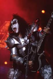 gene simmons on se with kiss photo by frank white