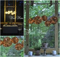 outdoor gvine chandelier