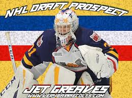 Barrie Colts Arena Seating Chart Barrie Colts 2019 Draft Prospect Jet Greaves Ohl Nhldraft