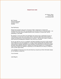 Cover Letter Layout Cover Letter Layout 10 Resume Cover Letter
