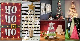 Comment Réaliser Une Déco De Noël Avec Du Bois De Récupération Diy Christmas Wood Crafts