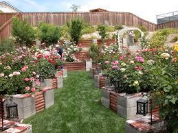 cinder block raised garden bed design